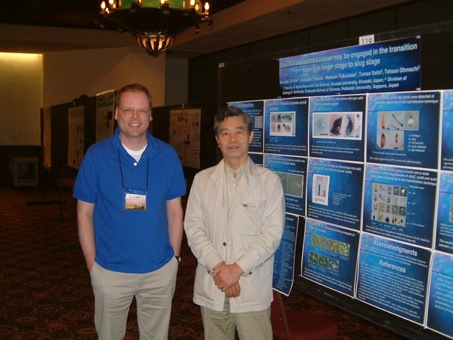 Left to right: Thomas Keller, Hiroshi Ochiai, Dicty Meeting 2006, Santa Fe, NM, USA